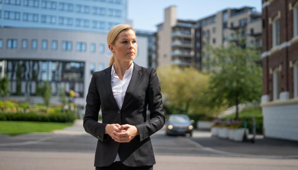 MERKER CORONAVIRUSET: Evelina Olsson i Finanstipset forteller at selskapet har refinansiert over 70 millioner kroner for folk med forbruksgjeld siden coronaviruset kom til Norge. Foto: Presse