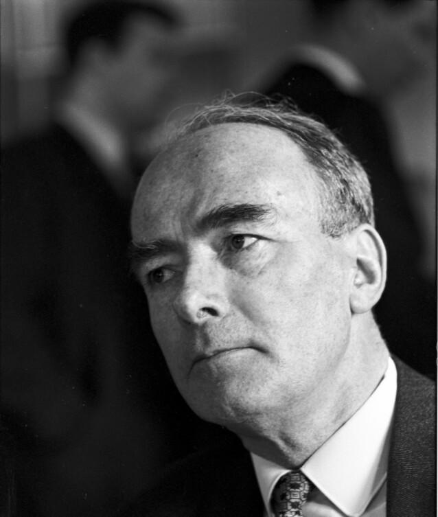 SATT I KONSENTRASJONSLEIR: Trygve Bratteli var blant de som ble sendt til Tyskland og satt konsentrasjonsleir under krigen. Noen tiår senere ble han statsminister i Norge. Foto: Aktuell NTB Scanpix