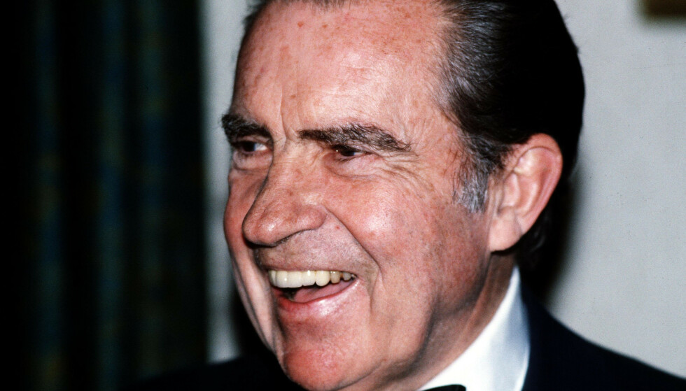 Richard Nixon står fortsatt som den eneste amerikanske presidenten som har måttet trekke seg. Foto: NTB/Scanpix
