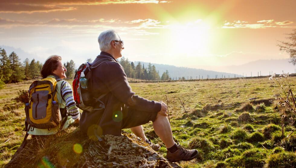 SISTE DEL AV LIVET: For at pensjonstilværelsen skal bli god er det viktig å ha kontroll på økonomien. Foto: Shutterstock / NTB Scanpix