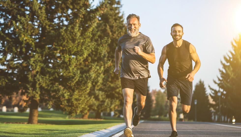 VIKTIG MED HØY PULS: Det er én ting du kan gjøre for å bremse aldersforandringer i kroppen: Få opp pulsen. Foto: Shutterstock NTB Scanpix