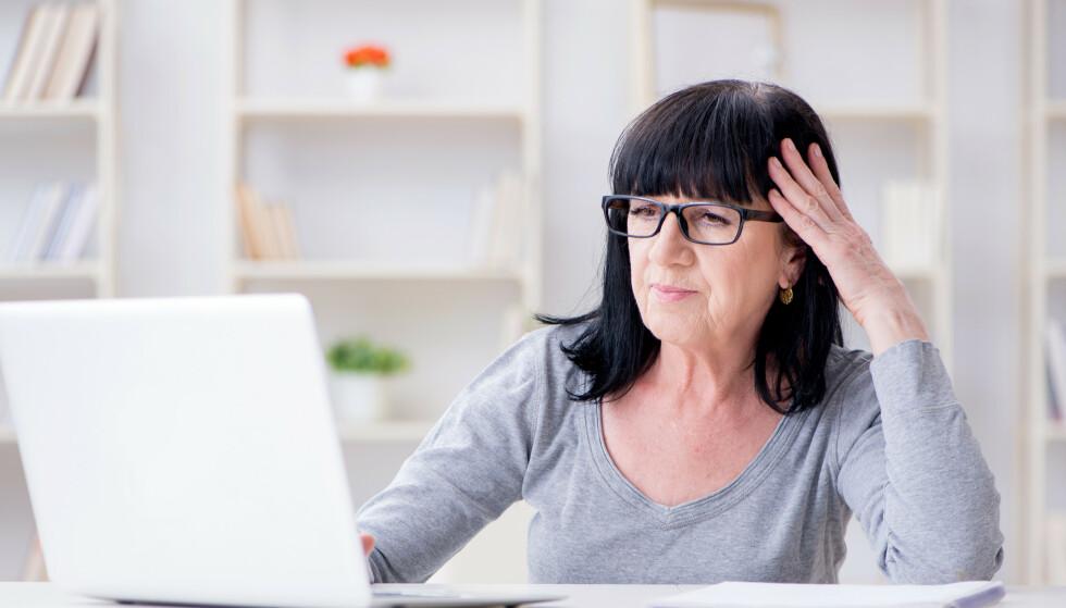 Både yngre og eldre nettbrukere gjør tabber på nettet, men hvilke tabber varierer etter alderen, ifølge ekspertene. Illustrasjonsfoto: Shutterstock/NTB Scanpix