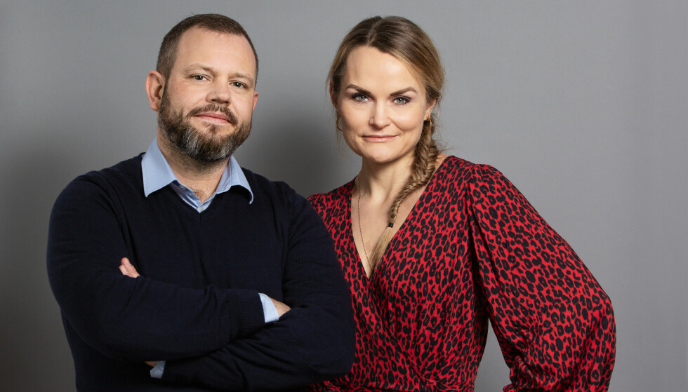Kreftlegene Sigmund Brabrand og Kathrine Vandraas er aktuell med boka Kreftgåten. Foto: Jarli&Jordan