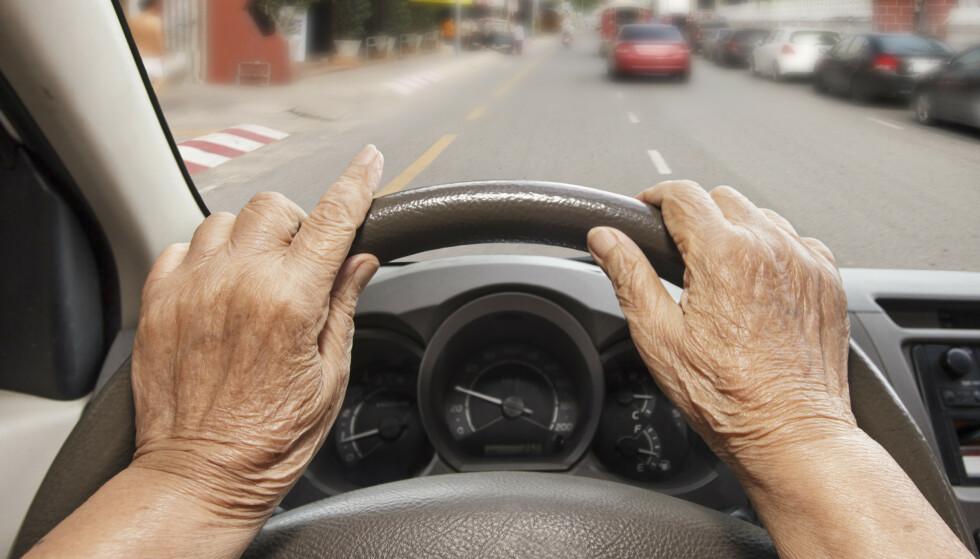 Den dagen du må parkere bilen for godt, er vanskelig for mange. Illustrasjonsfoto: Shutterstock/NTB