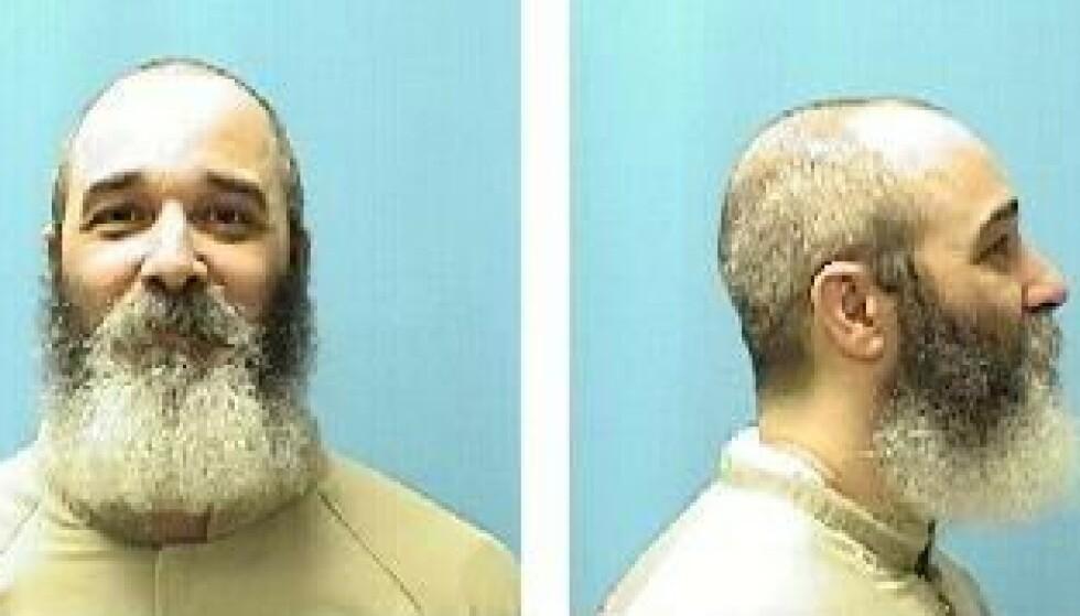 Mark Winger skal tilbringe resten av livet i fengsel. I november fyller han 58 år. Disse fengselsbildene er de siste som er offentliggjort. Foto: Murderpedia.org