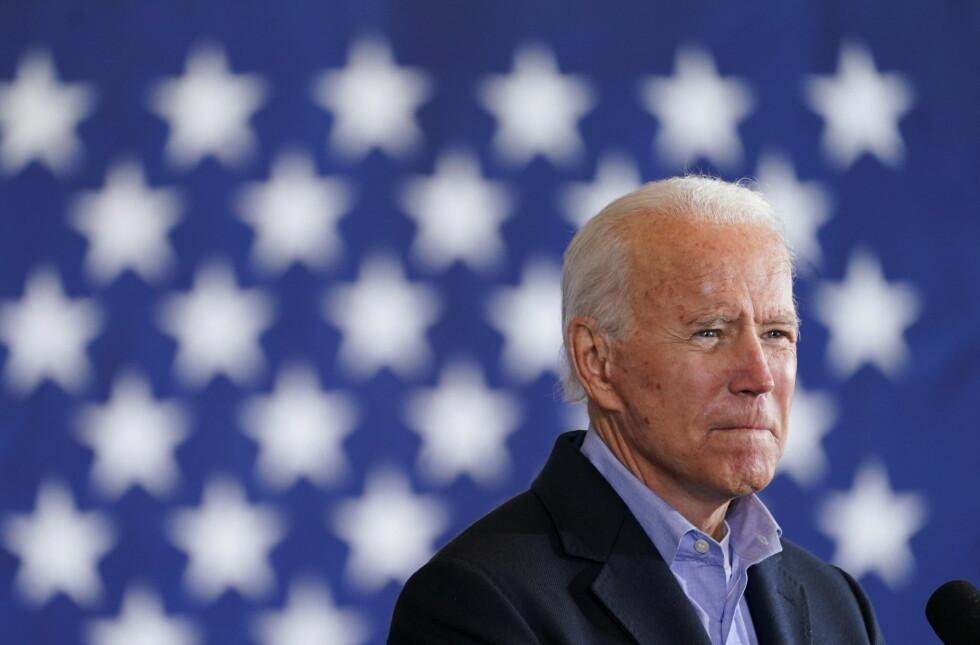 Om få timer kan Joe Biden være USAs 46.president. Eller ikke. Foto: REUTERS/Kevin Lamarque/NTB