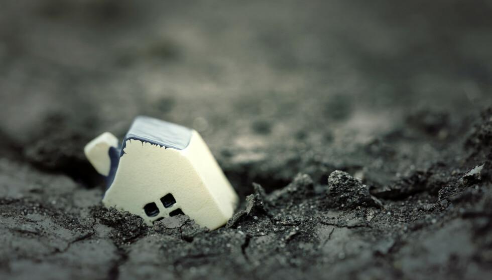 VIKTIG: Er du ikke godt nok forsikret kan du lide så store tap at du aldri kommer deg på beina igjen. Foto: Shutterstock NTB