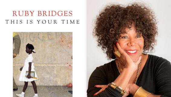 FORFATTER: Ruby Bridges ble borgerrettighetsforkjemper og forfatter. Hun har fortalt at skoleårene formet livet hennes. Foto: AP NTB