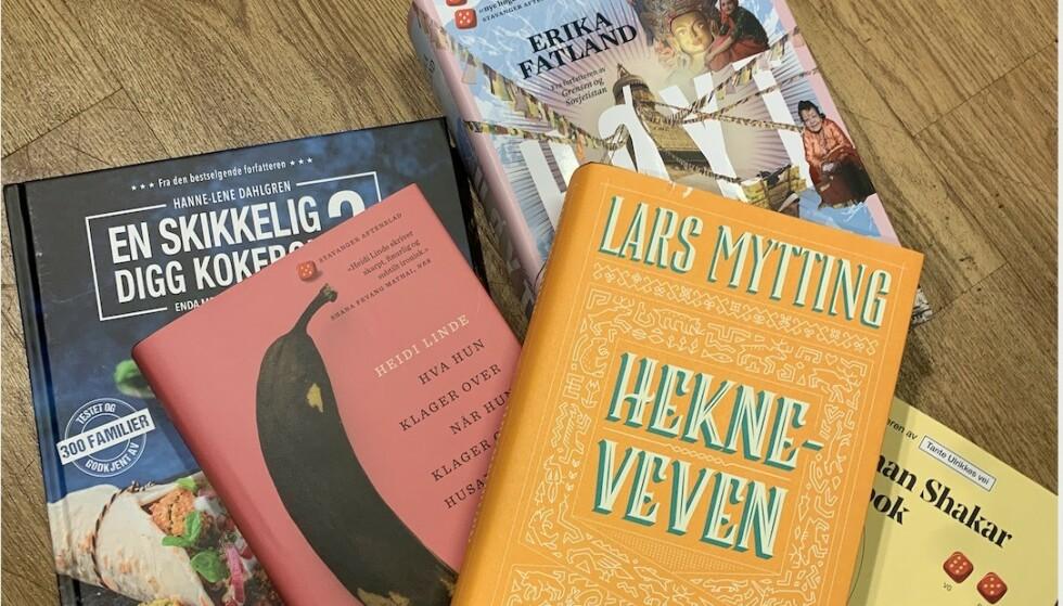 Kokebøker, reisebeskrivelser, hverdagsskildringer og eventyr for voksne: Her er våre beste boktips! Foto: Birgitte Hoff Lysholm