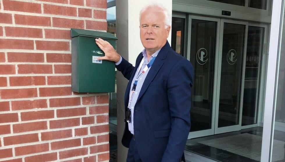 Thor Christian Haugland er banksjefen som selv ble svindlet av ID-tyver. - Mange føler seg dumme og kvier seg til å anmelde. Vit at du ikke er alene, og anmeld alt, er hans råd. Foto: Privat