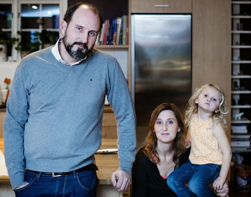 Da dette bildet ble tatt hjemme hos familien Gembäck i 2013, var det ti år siden Knutby-drapet. Men dramaet i menigheten var på ingen måte over. FOTO: HAMPUS LUNDGREN/DAGBLADET
