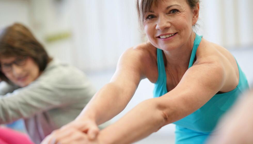 Bekkenbunnstrening er muskeltrening. Du må ta i skikkelig for at det skal ha effekt. Her er rådene. Illustrasjonsfoto: Shutterstock/NTB