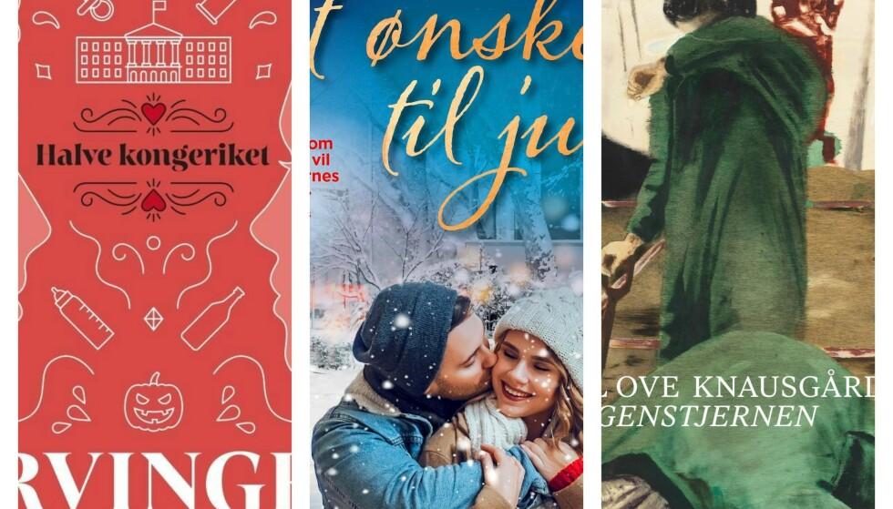 BOKTIPS: Det beste er å finne bok-gaver som kan gå på rundgang i jula! Foto: Forlagene