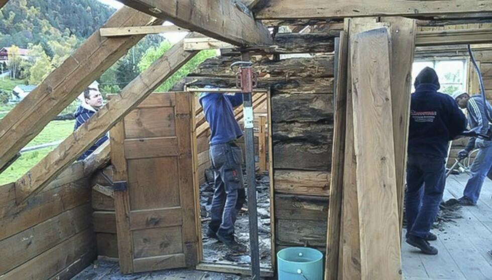 Alt som kunne gjenbrukes, er restaurert og ivaretatt. Foto: Privat