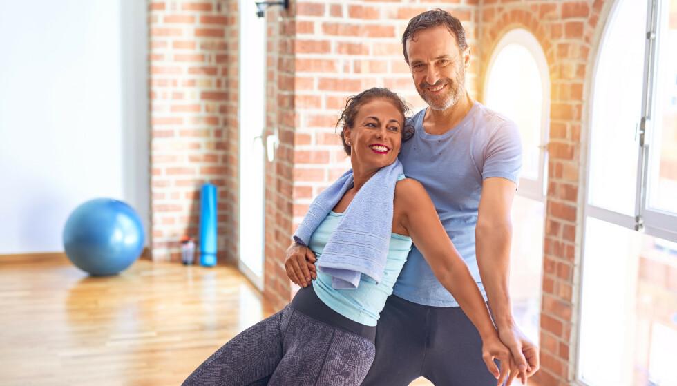 SENGEVALS: Har du tenkt på at treningstimene du legger ned også har positiv innvirkning på sengevalsen? Her er øvelsene som styrker de delene av kroppen som er i sving. Foto: Shutterstock/NTB
