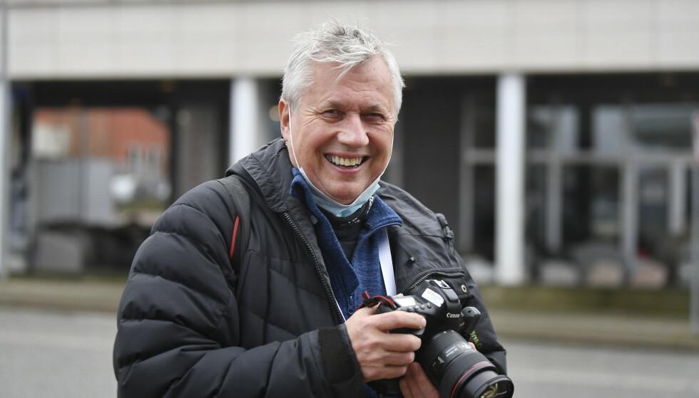 750 HÅNDBALLKAMPER: NTB-fotograf Vidar Ruud har fulgt 47 håndballmesterskap. Håndball-EM i Danmark blir siste gang han følger kvinnelandslaget i håndball. Foto: Bjørn Steinar Delebekk
