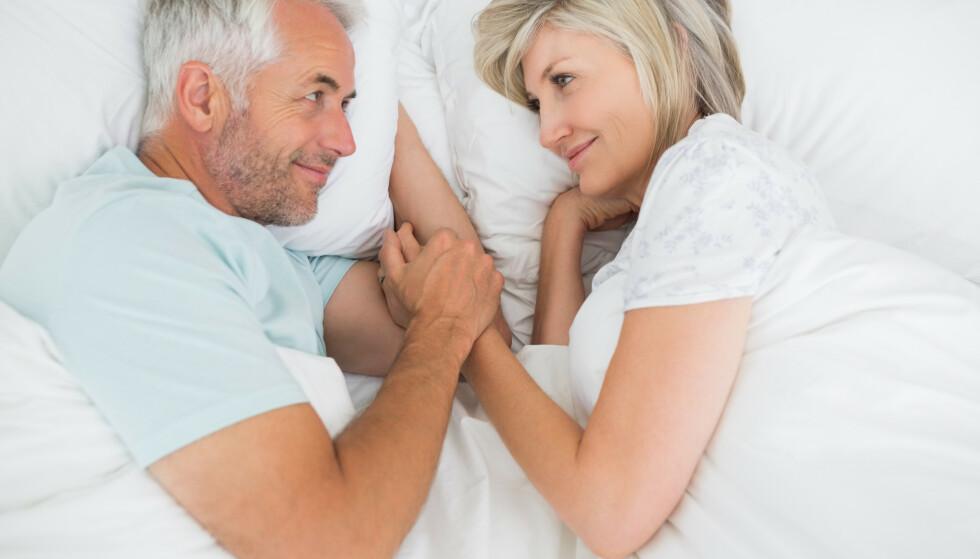 FRA NYTELSE TIL SMERTE: Sexlivet deres har alltid vært bra, nå hemmes det av at hun opplever smerter under samleie. Det har gått ut over mer enn sexlivet. Illustrasjonsfoto: Shutterstock/NTB