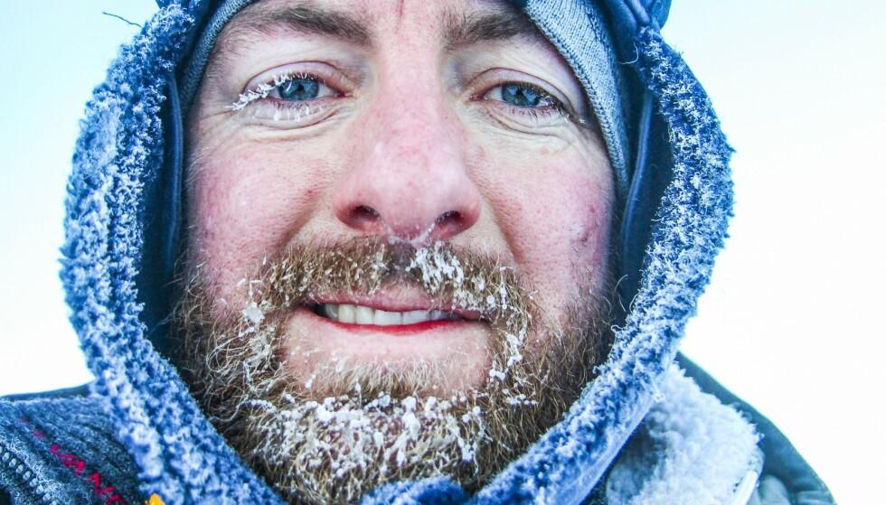 FROSSEN FERIE: Med varme klær og spennende opplevelser er Svalbard et eksotisk sted for herlige vinterferieopplevelser. Foto: Runar Larsen