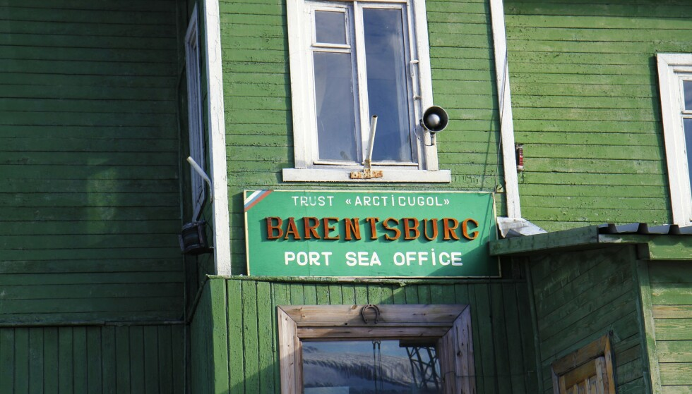 SOVJET: Gruvebyen Barentsburg er et lite stykke av det gamle Sovjetunionen. Foto: Runar Larsen