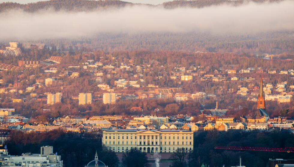 HOVEDSTADEN: Det kongelige slott i Oslo. Foto: NTB