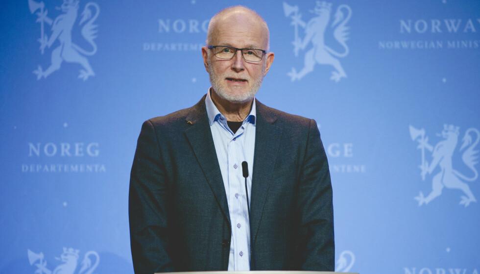 BLE NY: Da helsedirektør Bjørn Guldvog trengte en forandring, anla han skjegg. Kanskje det er der vi må legge lista nå, i de små tingene? Foto: Stian Lysberg Solum / NTB