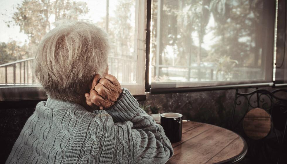 FORTVILET: Den eldre bestemoren fikk oppnevnt verge fordi hun ikke ønsket å bry sin nærmeste familie når hun var på sykehus med smerter i armen. Nå er hun fortvilet over at en person hun ikke kjenner skal ivareta hennes personlige og økonomiske interesser. Illustrasjonsfoto: NTB