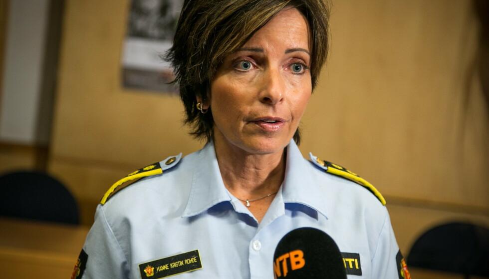 ET TIDLIGERE LIV: Slik var vi vant til å se henne: Alvorlig foran et fulltallig pressekorps. Foto: Audun Braastad / NTB