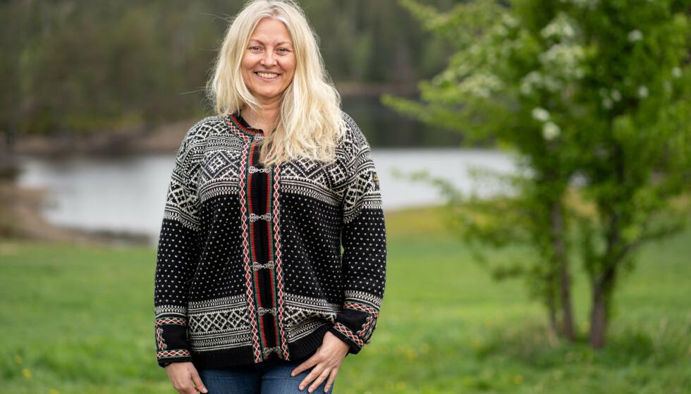 GLAD OG FRISK: «Farmen»-deltaker Eli Kari Gjengedal er glad for at kroppen er frisk. Hun ser på overgangsalderen som en naturlig ting som alle skal gjennom. Foto: Espen Solli/TV 2