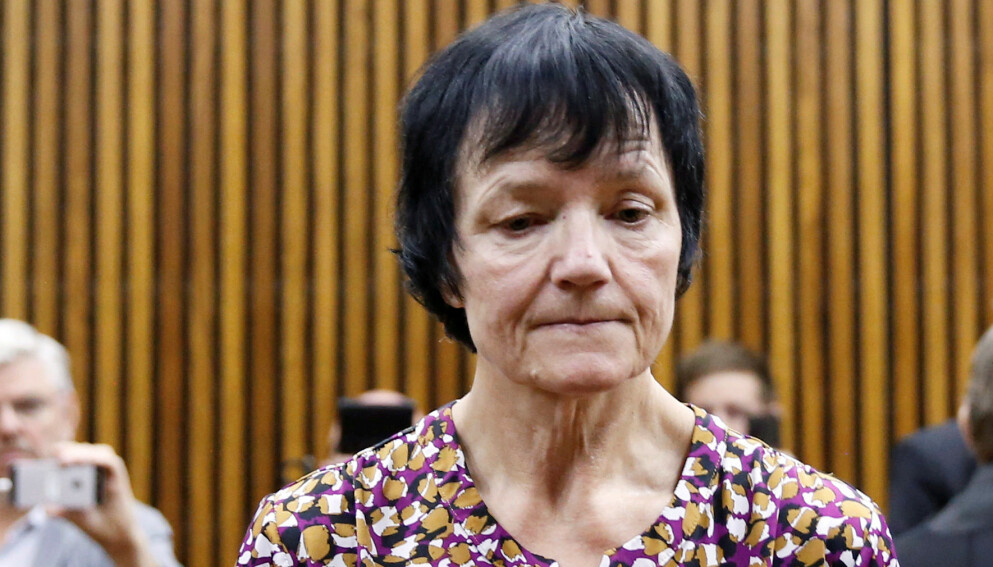Avslørt: Britta Nielsen hadde levd godt på statens penger. Her er hun avbildet i en sør-afrikansk rettssal før utlevering til Danmark. Foto: NTB/Reuters