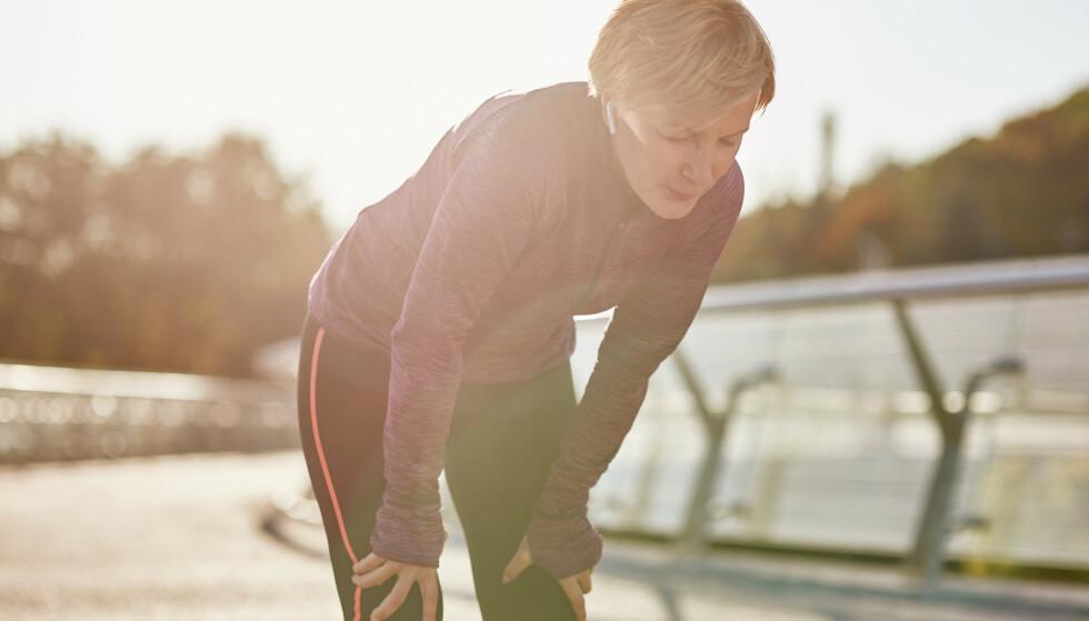 Søk hjelp: Blir du utmattet og kjenner deg dårlig av fysisk trening, bør du søke kyndig hjelp til å finne årsaken(e) til dette. Det kan noen ganger ligge medisinske forhold bak. Illustrasjonsfoto: Shutterstock/NTB