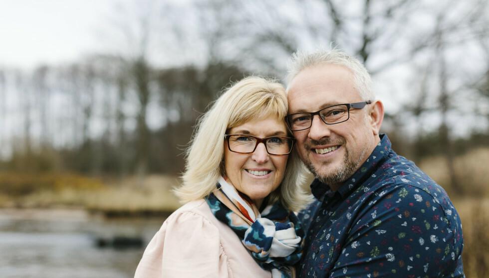 UVENTET MATCH: Hvordan finner man den store kjærligheten etter 50? Helena Löf Pettersson var aktiv i foreningslivet, testet nettdating og var ute på byen, men lyktes ikke med å finne den rette. Puslespillbitene falt på plass da hun traff Magnus. FOTO: Karin Vivar