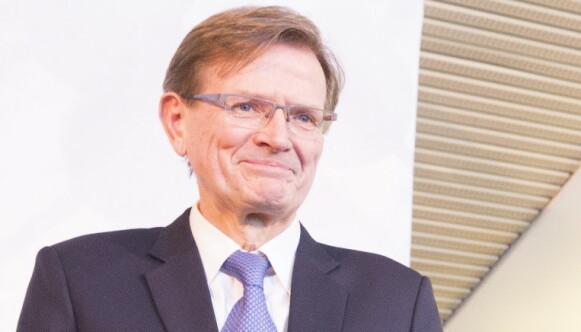 Professor Lars Gullestad ble i 2017 tildelt Hjerteforskningsprisen av Nasjonalforeningen for folkehelsen. Foto: Terje Bendiksby / NTB