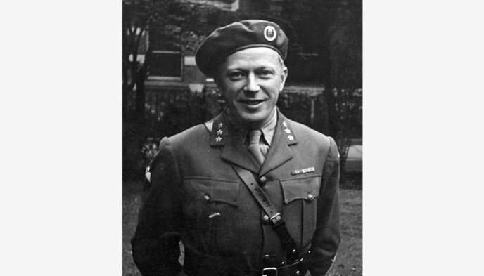 Leif Hans Tronstad var kjemiprofessor ved NTH, etterretningsoffiser og militær organisator under motstandskampen i andre verdenskrig. Foto: NTNU