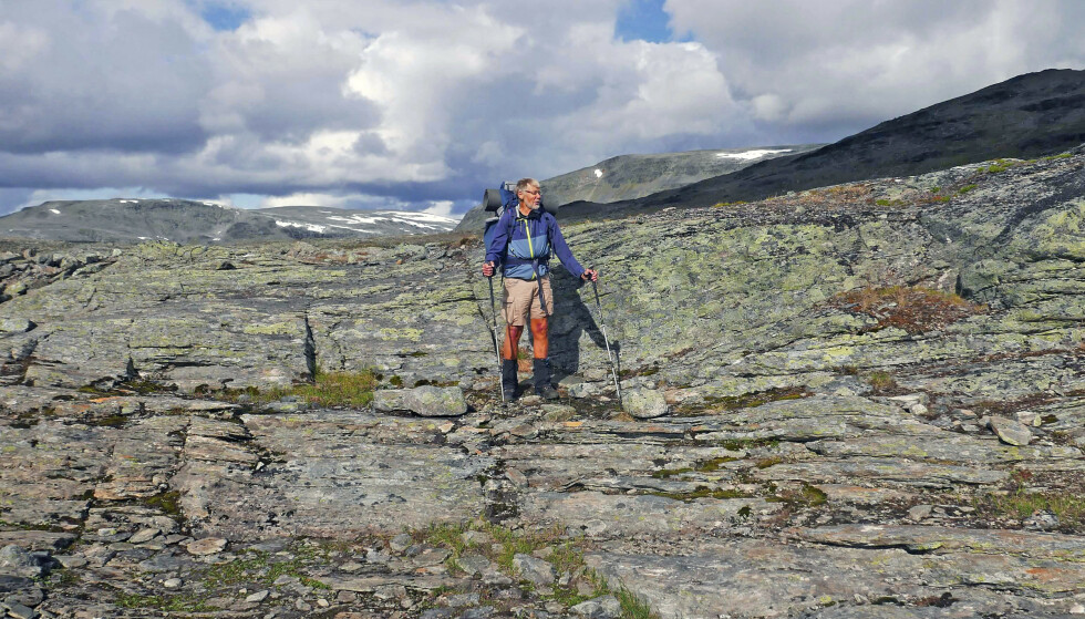 EVIG UNG? Det finnes bare i reklamen, mener Olav Flaate. Selv om han er frisk og aktiv, kjenner han alderen på kroppen som de aller fleste av oss. Foto: Privat