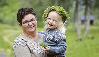 Strikk sommerkofte til bestemor og mini