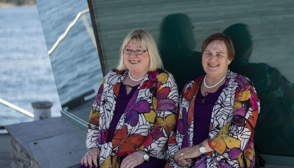 LANGTIDSPROSJEKT: Det tok lang tid for både Jorun og Lise å erkjenne at de var lesbiske. De så ikke på det som en reell mulighet før de var godt voksne. Foto: Privat