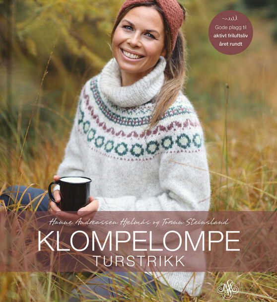 Oppskriften er hentet fra denne boka: Klompelompe turstrikk, av Hanne Andreassen Hjelmås og Torunn Steinsland på J.M. Stenersens forlag.