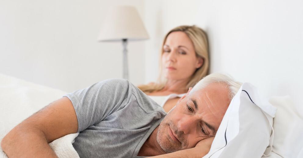 TID OG STED. Det er viktig å ha den gode praten når begge er i godt humør og har overskudd. Ifølge eksperten er sengetid et av de verste tidspunktene du kan velge. Illustrasjonsfoto: Shutterstock/NTB