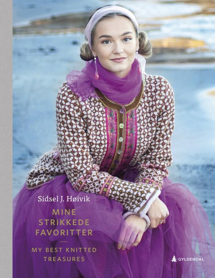 Egne bøker: Sidsel har tidligere gitt ut to strikkebøker, og nå kommer hun med sin tredje – både på norsk og engelsk.