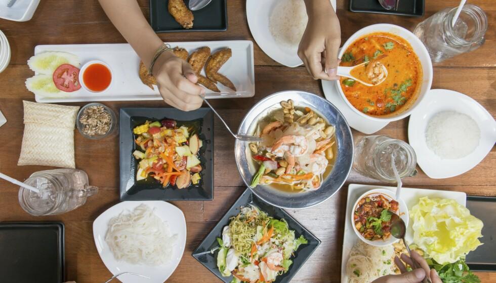 Smaken av Asia. Foto: NTB