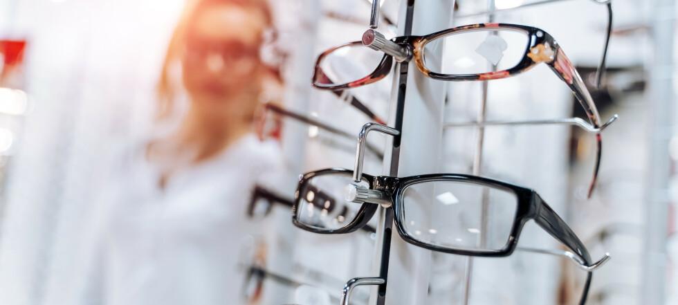Prissjokk på briller: Fra 1493 til 12 258 kroner