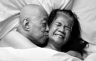 Parene lot seg fotografere i intime situasjoner