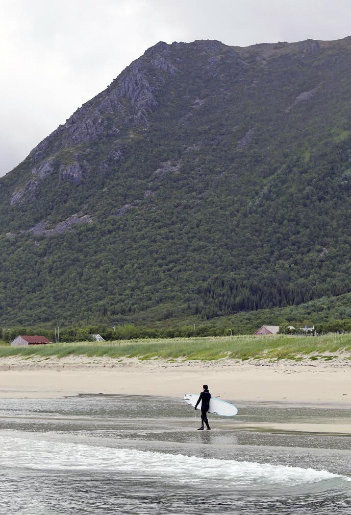Andøya byr på hval, lundefugl, romfart - og surfing. Foto: Runar Larsen/Magasinet Reiselyst