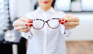 Brillekjøp: 9 av 10 sliter med å skjønne priser og informasjon