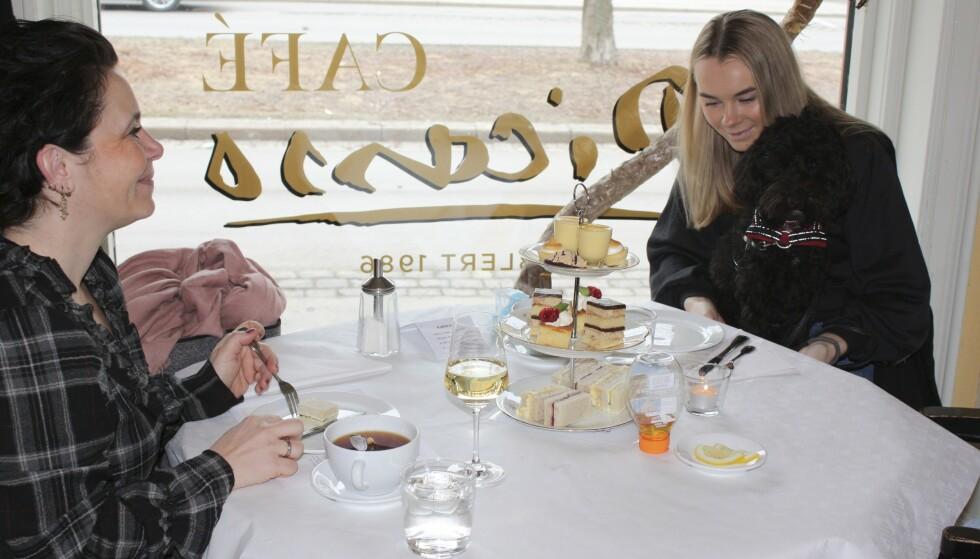AUTENTISK: Med britisk kjøkkensjef får du følelsen av å være i England på Picasso. Foto: Café Picasso