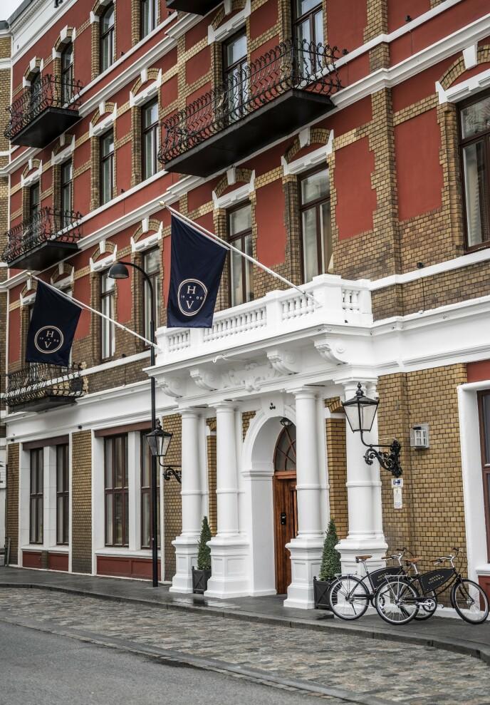 STILIG I STAVANGER: Hotel Victoria er nyoppusset og innbydende. Foto: Hotel Victoria