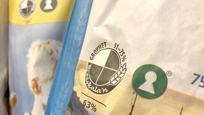 HVILKET BRØD BØR DU KJØPE? Bruk brødskalaen til å finne brød med mye kostfiber - men se også på prosentandelen kostfiber og ikke kun antall skraverte kaker. Nøkkelhullet kan guide deg til produkter som er sunnere enn andre produkter av samme type. Foto: Kristin Sørdal