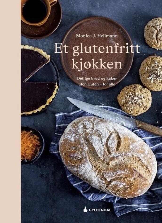 NY BOK: Denne boken har sitt utspring i 30 års systematisk prøve-og-feile-virksomhet på Monicas eget kjøkken. Foto: Forlaget
