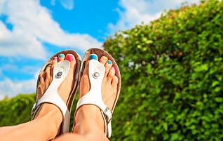 Advarer mot sandaler som dette