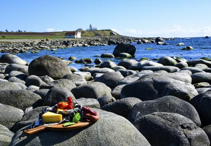 JÆRENS MATFAT: Det er ikke bare vakkert landskap på Jæren. Her finnes også deilig lokalprodusert mat. Foto: Torild Moland